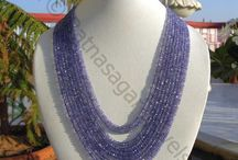Tanzanite Gemstone Beads / Ratnasagarjewels.com provides a spectacular platform for all your gemstone beads need including Faceted Rondelle and Plain Tanzanite Gemstone Beads at the most competitive prices. Order Now.
