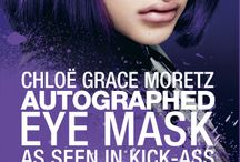 Chloë Grace Moretz / Whether she is kicking-ass, living in secrecy as a vampire or surviving a coma Chloë Grace Moretz is a talented actress and a pleasure to work with. Take a look at some of the product from our autograph signing.
