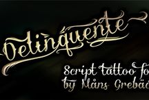 Fonts For Tattoo