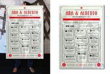Our seating plan / Distribución de las mesas el día de la boda.