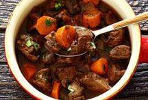 beef stew slow cooker red wine crock pot