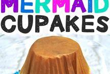 Mermaid Cakes, Cupcakes, and Ideas