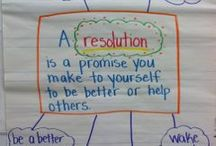 New year resolution school