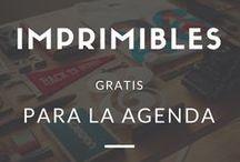 agenda imprimibles