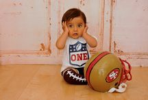 1st Birthday Party / First Birthday Party for boy. Nfl theme. Football theme. MVP