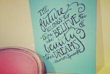 Quotes / Inspiration for my teacher heart