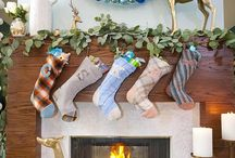 Our Merry Mantle / Stockings, Gifts we Love and Festive Decor!