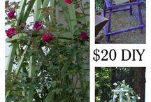 Pnoucí rostliny a pnoucí stěny pro rostliny,zeleninu apod.