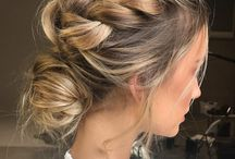 Konfirmation hairstyle