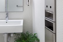 d line in New York / d line bathroom accessories in BIG's stunning VIA W57 highrise.