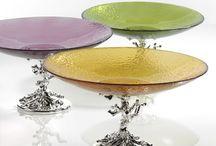 Argenesi silver/glas