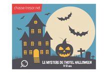 Une chasse au trésor pour Halloween
