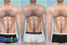 the sims 4 roupa intima man