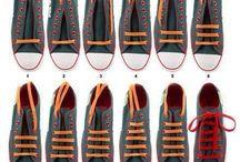 cipő fűzés