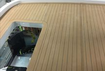 Esthec Yacht Decking / Esthec synthetic decking for yachts