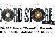 """RECORD STORE DAY 2015 / TORTUGA BAR live at """"Mono-Ton Schallplatten"""" Nürnberg - unplugged! Samstag, 18.4.2015  -  16 Uhr  -  Eintritt Frei"""