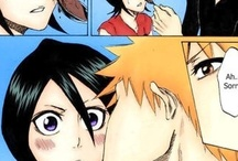 Rukia y Ichigo