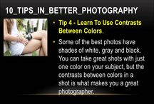 Tips in Better Photography: How to take good images https://youtu.be/lopHQs3fy_g