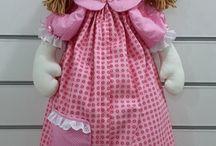boneca de pano / boneca de pano