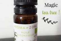 huile essentielle de l'arbre à thé