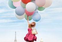 La moda con globos