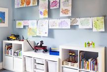 Playroom / Inside and Outside Playroom, DIY Playroom projects