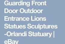 front door sculptures