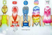 redes sociales personalizadas
