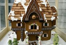 Christmas Cheer: Gingerbread houses! / by Tammy Cox