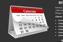 Spring 2017 Schedules