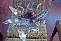 oggetti di design in ferro battuto / Oggetti forgiati a mano con l' antica lavorazione fabbrile riportata ai giorni nostri.