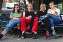 Rollerskate spots / Places around the world where people meet up for rollerskating and dancing on roller-skates. Let's meet some day!