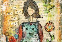 She Art / Creations plus tutorials