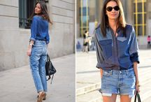 REVIVAL: The Denim Shirt / This fashion revival may have hit the trend stakes back in the 80s, but all good things come back around...