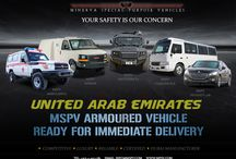 Armored Vehicles United Arab Emirates / Minerva Special Purpose Vehicles is a leading United Arab Emirates based armored vehicles manufacturing company, specializes in the design and production of a wide range of armored vehicles, including includes Armored Cars / SUVs, Armored Pick-Ups, Armored Vans/Bus, Armored Cash-In-Transit Vehicles