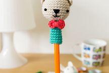 Amigurumi kalem süsü