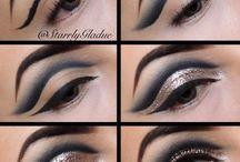 Макияж глаз / Уроки макияжа, красивый макияж #макияж, #макияжглаз