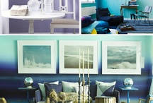 Ombre / Newest trend in fashion, beauty and home decor