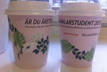 Skandiamäklarna / take away, ooh, marketing, marknadsföring, pr, sverige, coffee, coffeecup, cup, mug, reklam, advertising, kaffe, kaffekopp, kaffereklam,