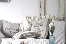 Shabby Vintage Whtes.... / by Chickie