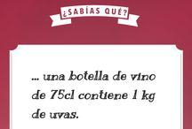 Infografías y lecciones sobre vino / Aprende curiosidades, vocabulario e historia del #vino.