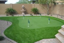 Putting greens in yards