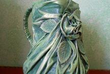 ragasztos textil art