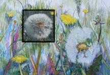 Löwenzahn / dandelion watercolors