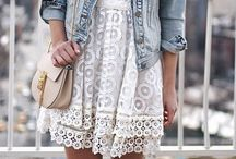 Lace dresses outfits