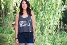 Keep It Simple Collection / Summer 2014 / walk in love. | keep it simple | summer outfit | hipster |