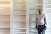 Living room wall / Bookshelf wall