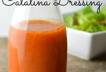 Salad dressings and sauces