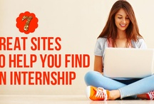 Internship Search Help / Interesting internship search sites for various industries and sectors.