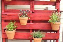 Jardinería pallets